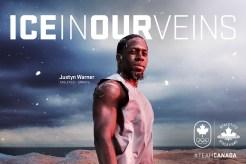 Justyn Warner, athletics (sprints)