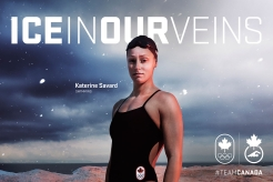 Katerine Savard, swimming