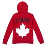 Mens Maple Leaf Hoodie---Back, $95