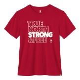 Mens Villagewear T-Shirt---Red-TNS&F, $30