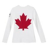 Womens Maple Leaf Long Sleeve T-Shirt---Back, $40