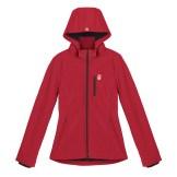 Womens Softshell Maple Leaf Canada Jacket---Front, $125