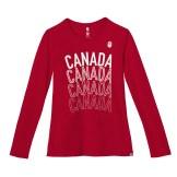 Womens Villagewear Longsleeve T-Shirt, $40