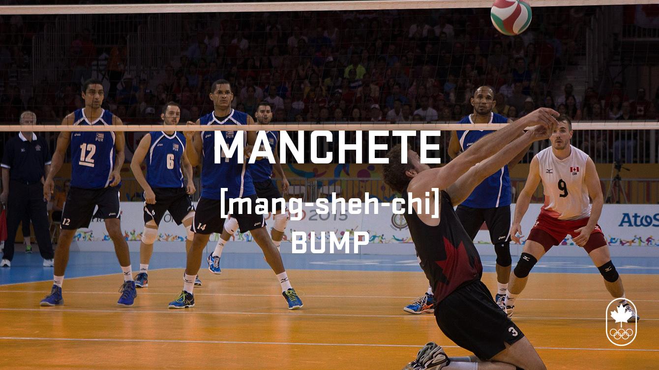Bump (machete), Carioca Crash Course, volleyball edition