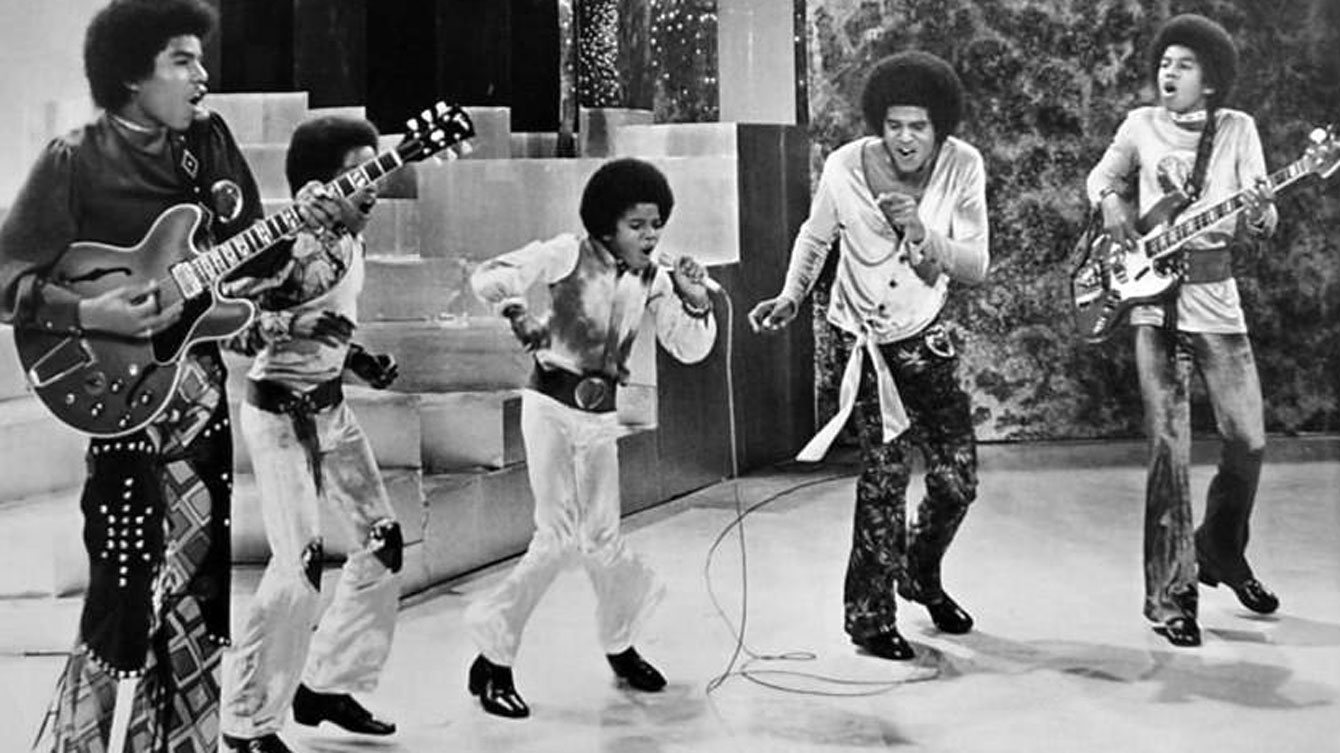 The Jackson 5 performed in Maracanãzinho in 1974