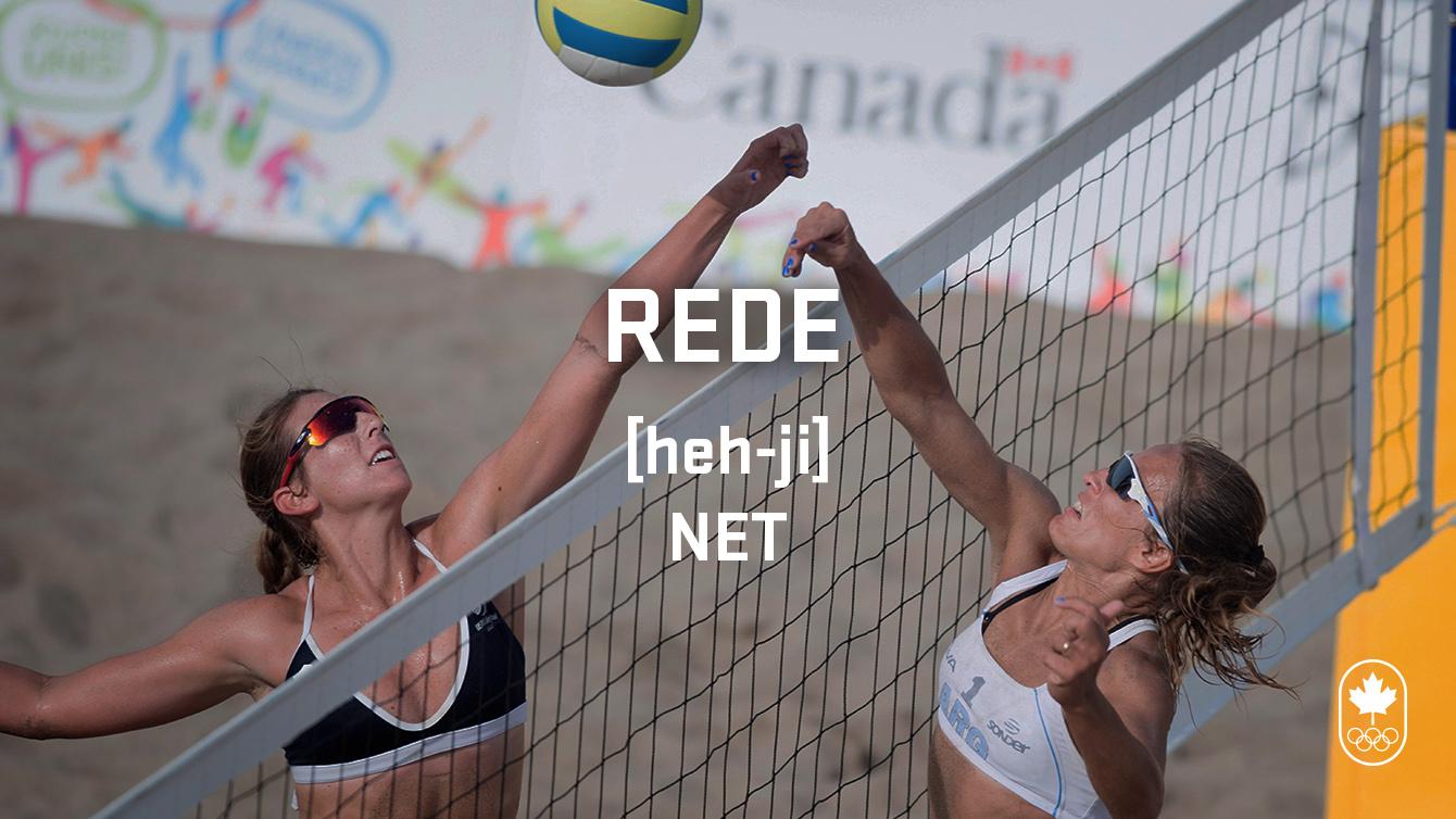 Net (rede), Carioca Crash Course, Volleyball edition