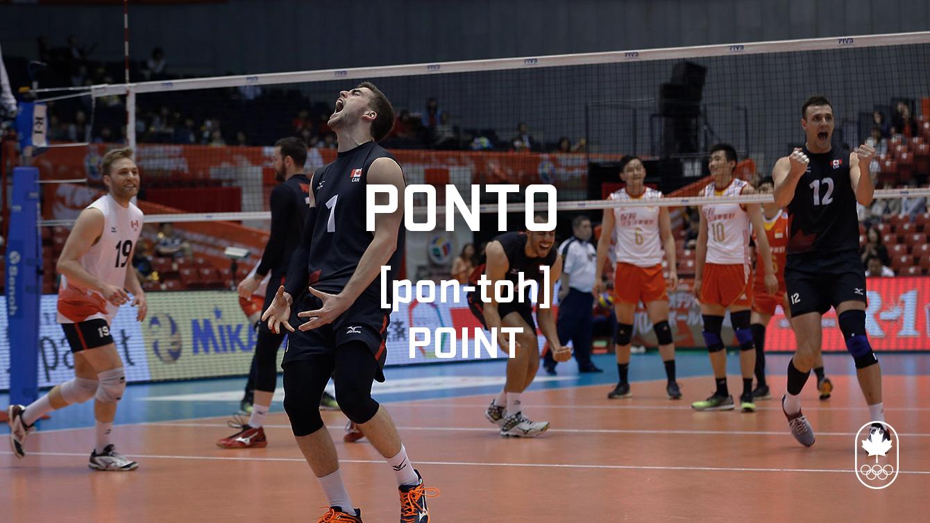 Point (ponto), Carioca Crash Course, Volleyball edition