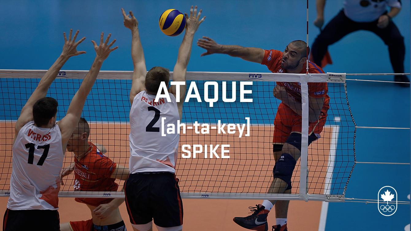 Spike (ataque), Carioca Crash Course, volleyball edition
