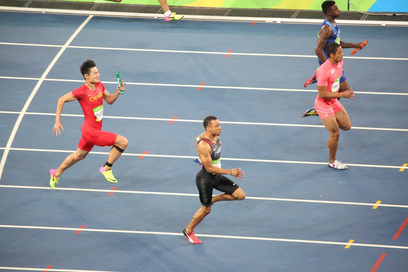 Men's 4x100 Relay, Rio 2016. August 19, 2016.