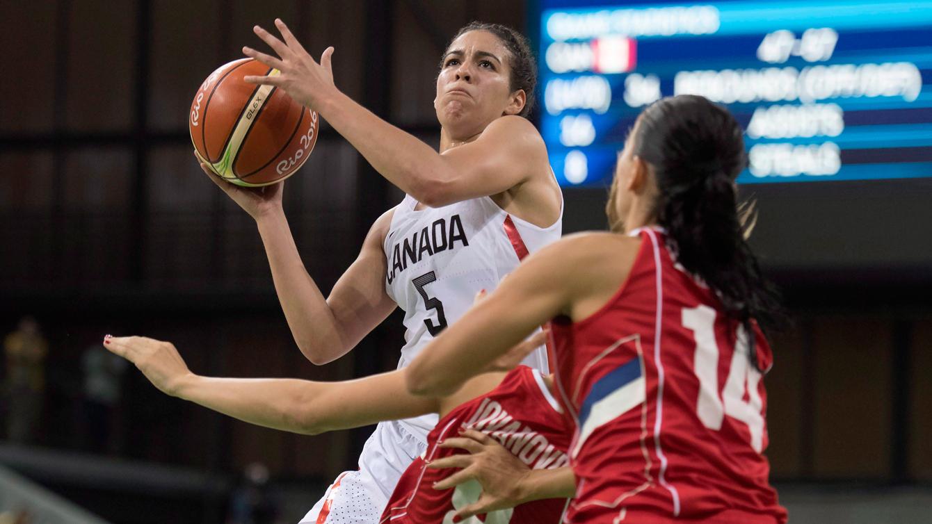 Rio 2016: Kia Nurse, women's basketball