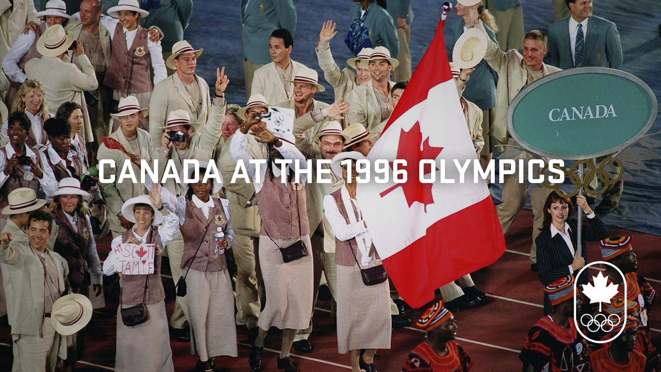 What's up in 1996: Canada at Atlanta 1996