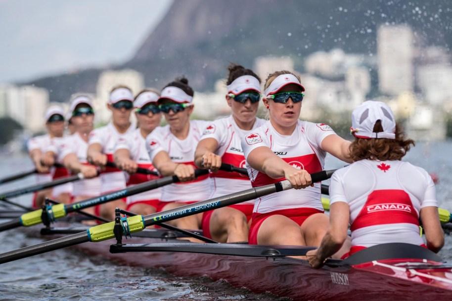 Team Canada's women's rowing team