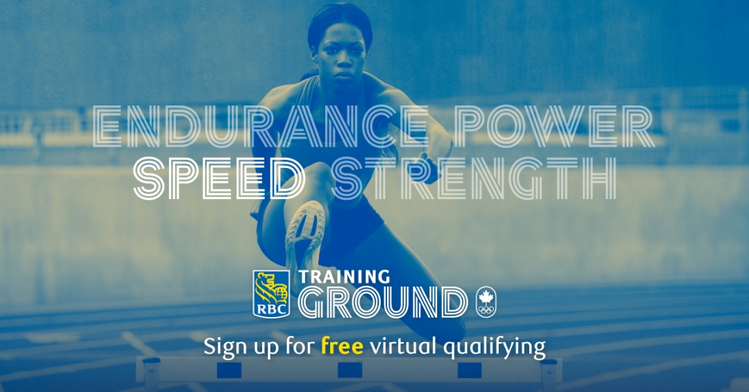 Endurance Power Speed Strength, Sign up for free RBC Training Ground virtual qualifying