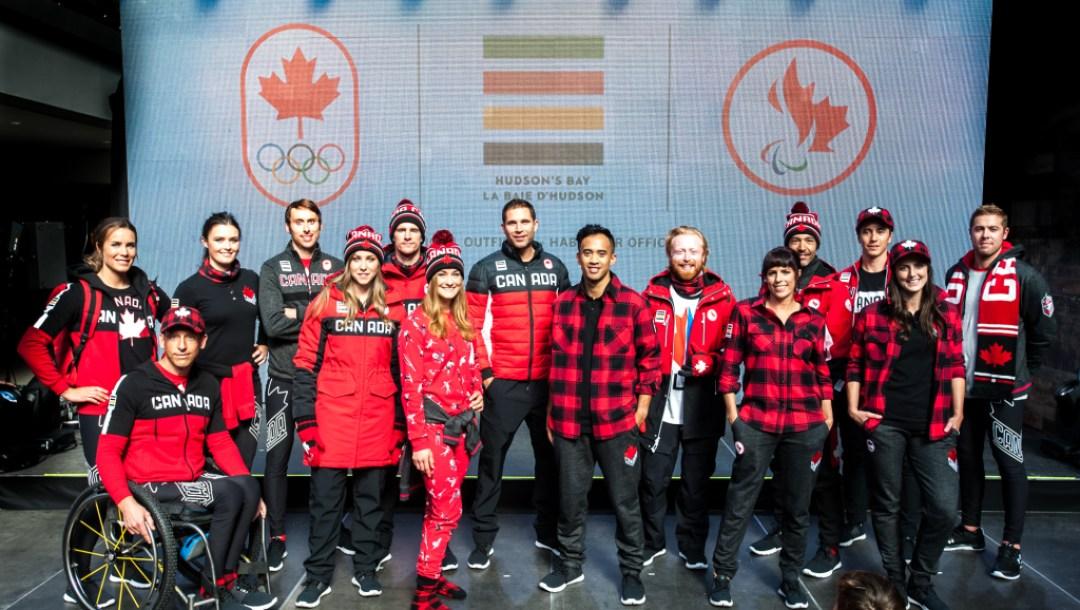 2018 HBC Team Canada kit launch