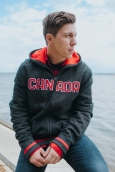 Travis Gerrits wears Hudson's Bay PyeongChang 2018 Olympic and Paralympic Collection