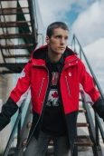 Max Parrot wears Hudson's Bay PyeongChang 2018 Olympic and Paralympic Collection