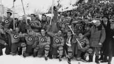 Canadian Olympic Men's hockey team 1948 (image found hockeygods.com)
