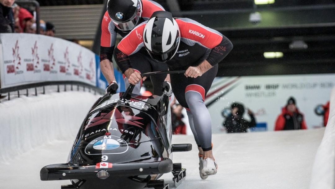 Team Canada - Justin Kripps Alexander Kopacz Push Start 1