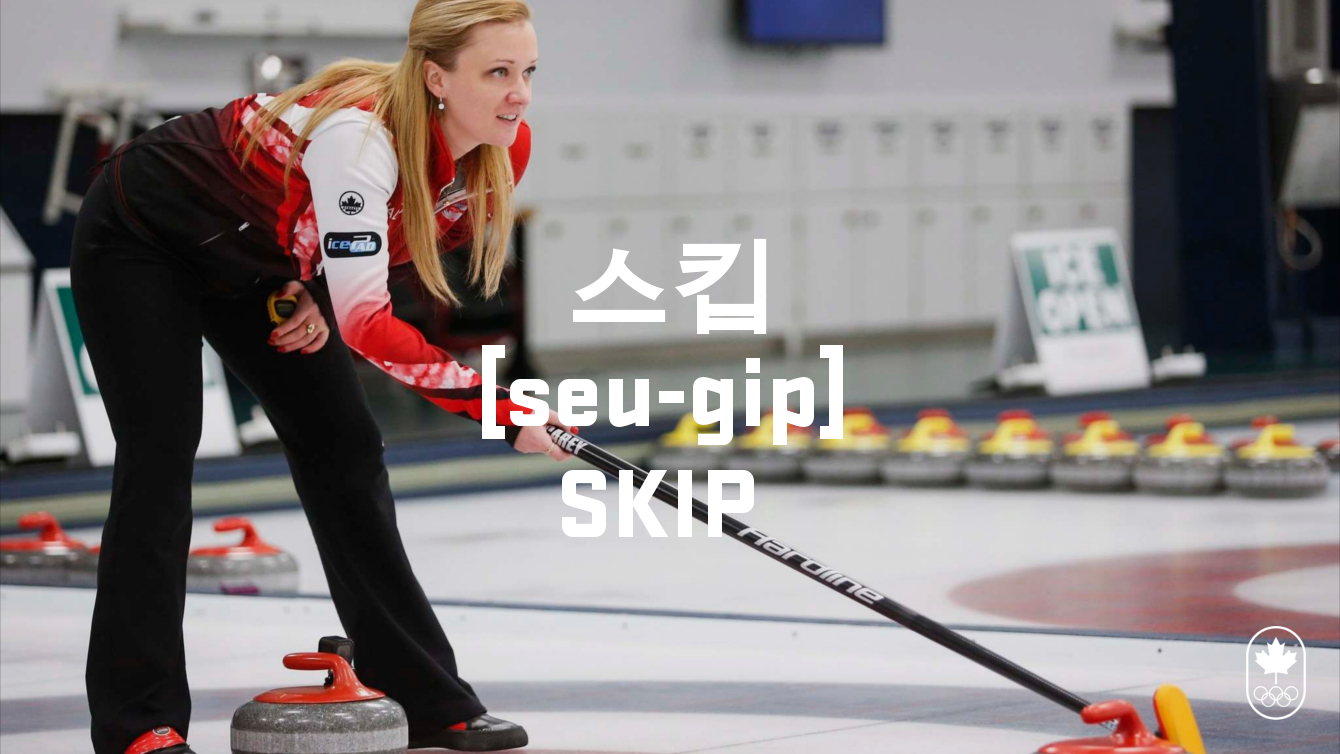 Team Canada - Curling Skip Hangul seugip
