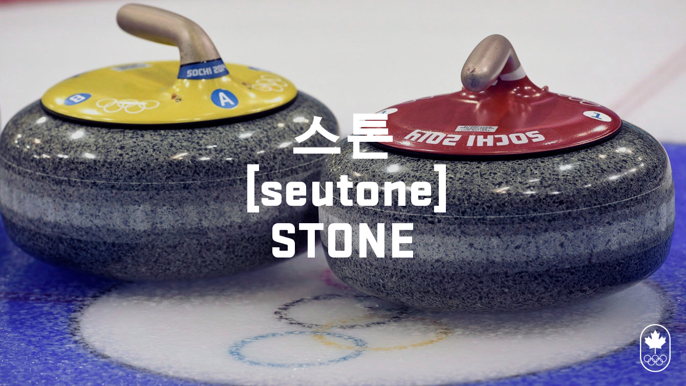 Team Canada - Curling Stone Hangul seutone