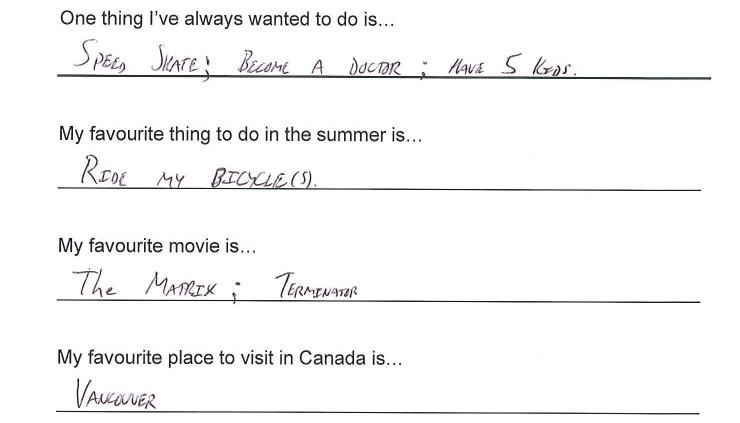 Team Canada - Denny Morrison hi my name is response 3