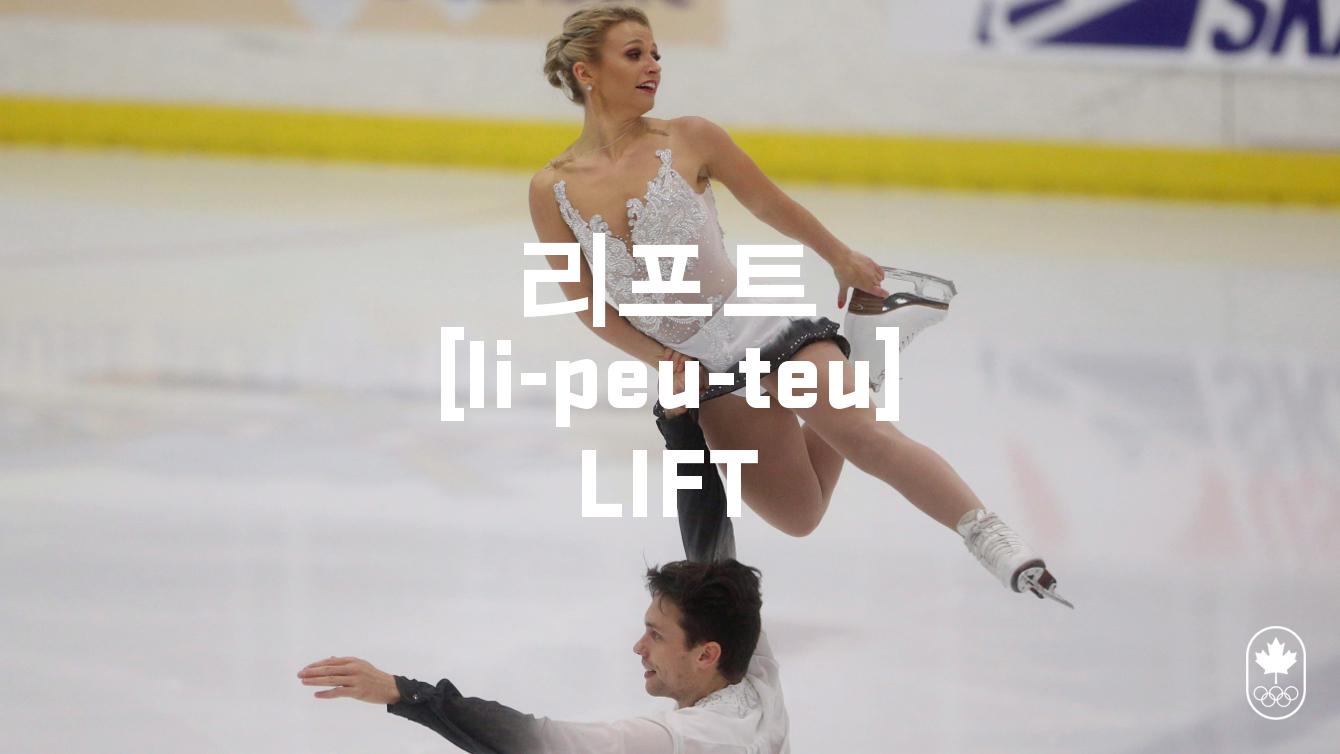 Team Canada - Figure Skating Lift li-peu-teu
