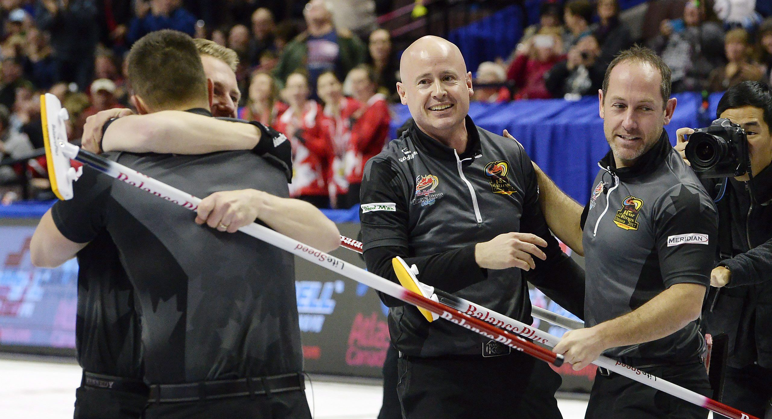 Team Canada Kevin Koe; Marc Kennedy; Brent Laing; Ben Hebert