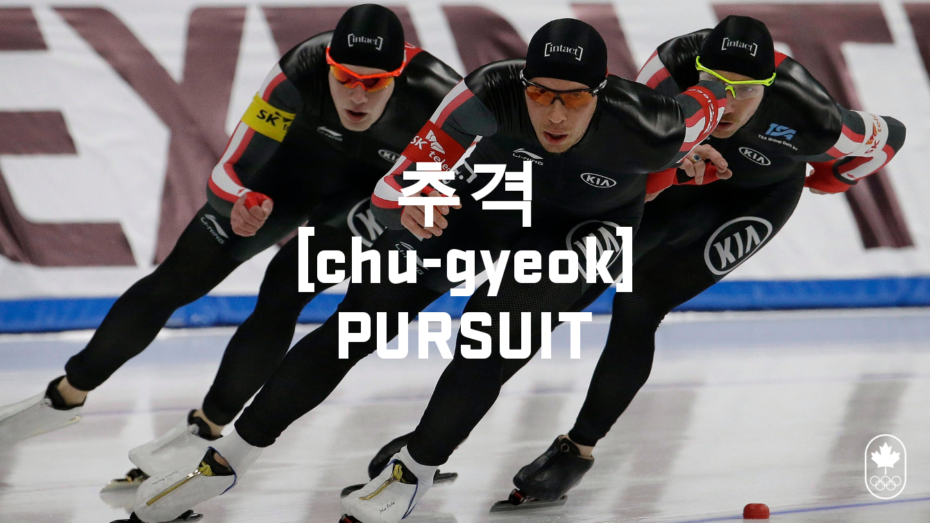 Team Canada - Speed Skating Hangul Pursuit chu-gyeok