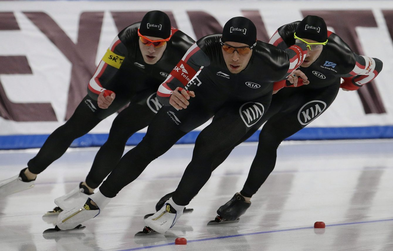 Team Canada 2017 World Single Distances Championships