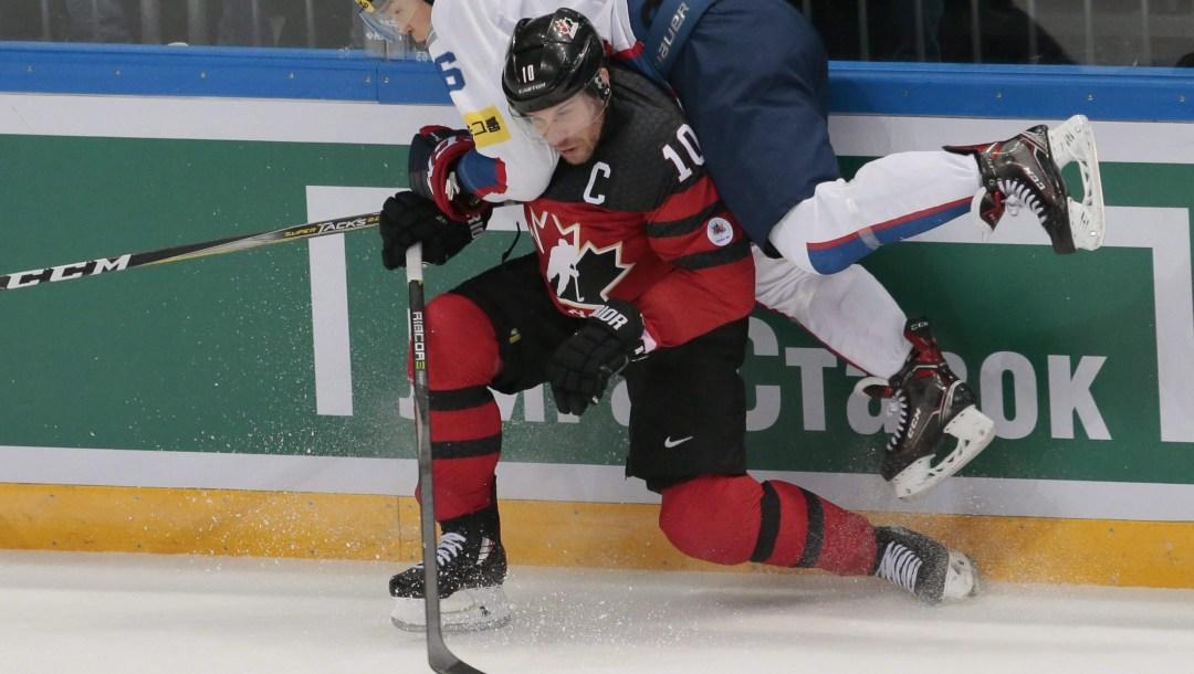 Team Canada Derek Roy