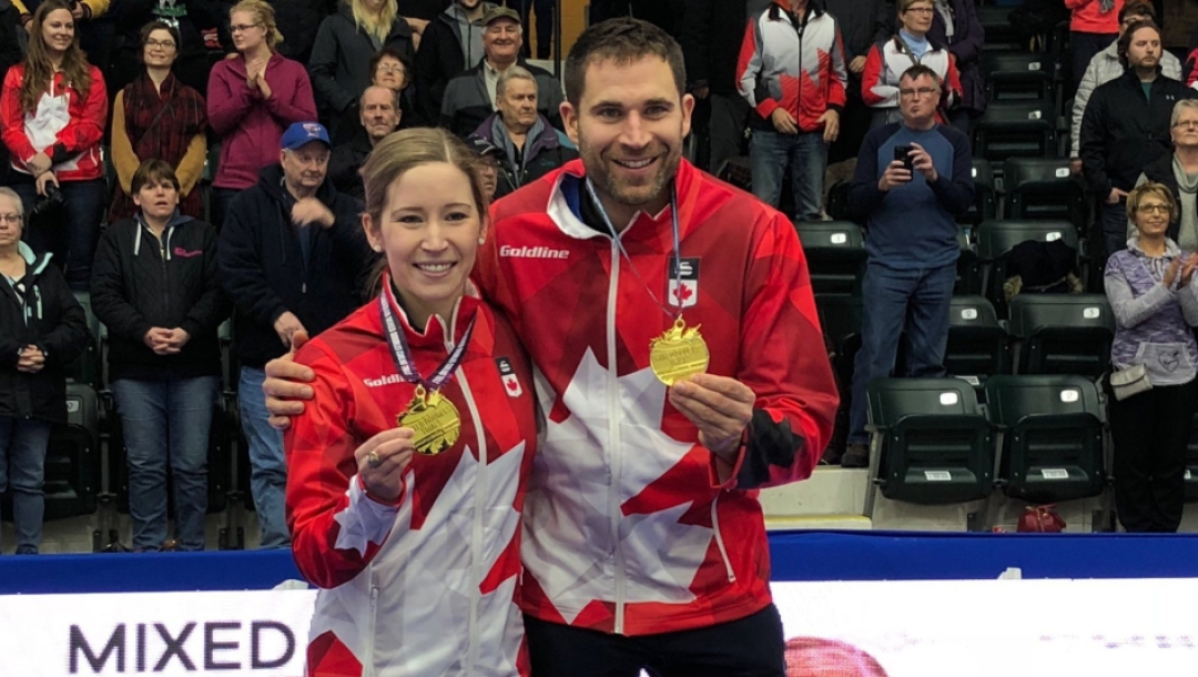 Team Canada Kaitlyn Lawes John Morris