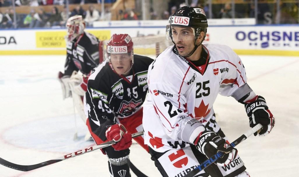 Team Canada Maxim Lapierre