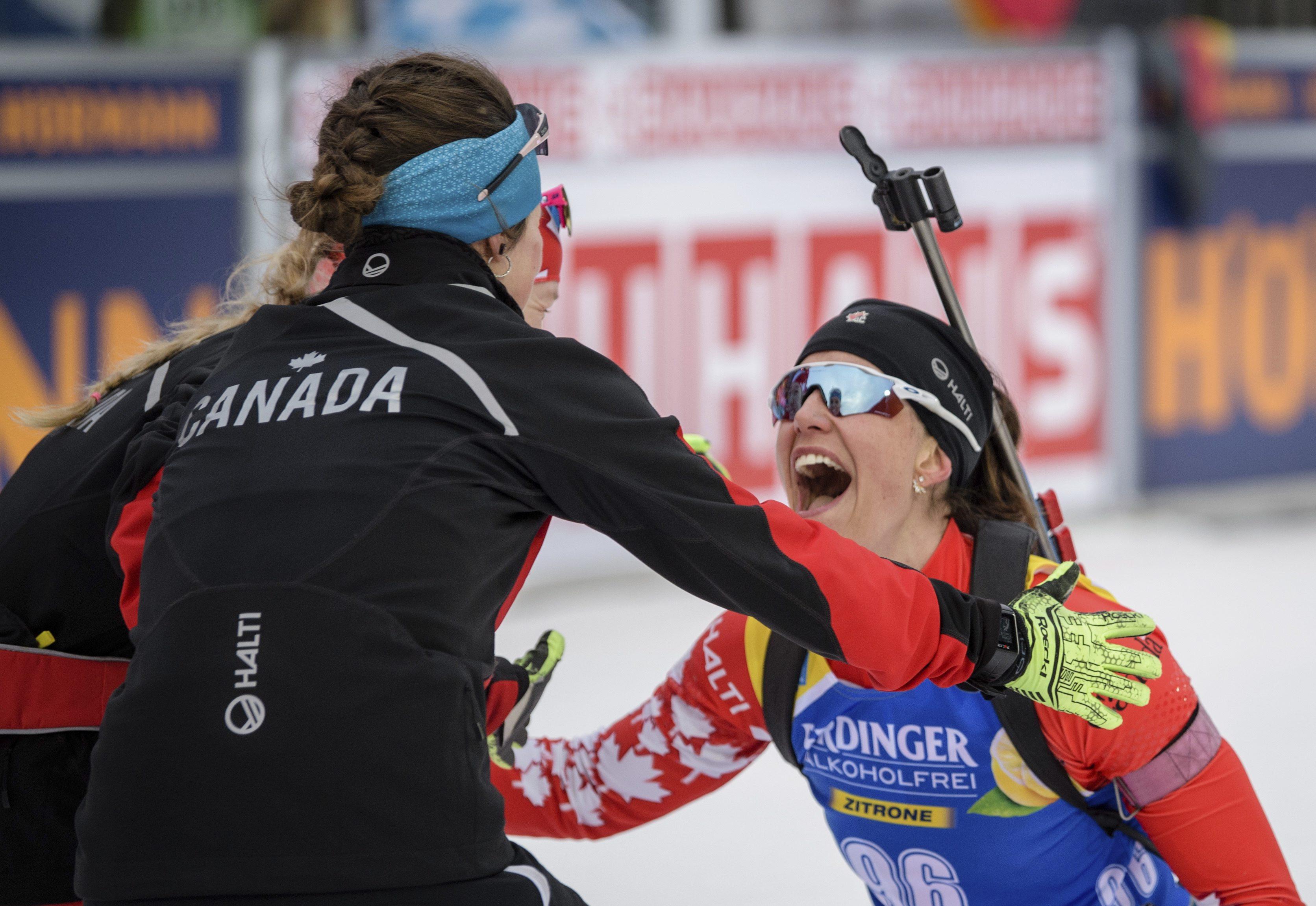 Team Canada Rosanna Crawford