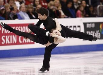 Team Canada Tessa Virtue Scott Moir 2009 World Championships