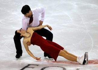Team Canada Tessa Virtue, Scott Moir 2012 Four Continents