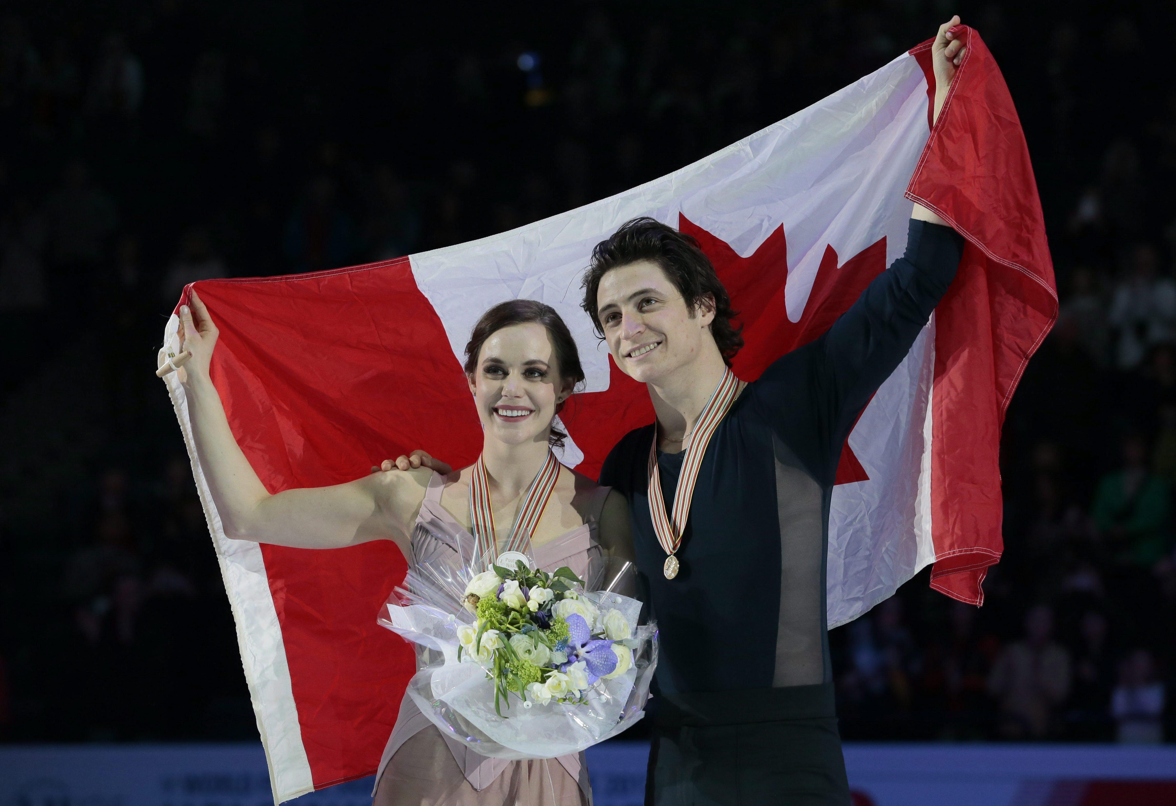 Team Canada Tessa Virtue, Scott Moir 2017 World Championships