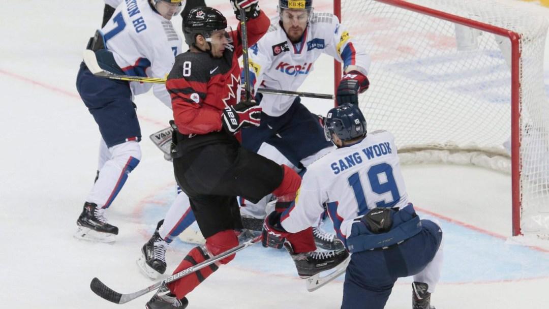 Team Canada Wojtek Wolski