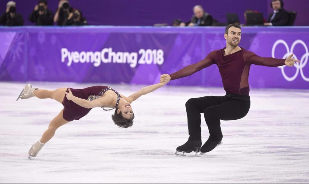 Team Canada Meagan Duhamel Eric Radford PyeongChang 2018