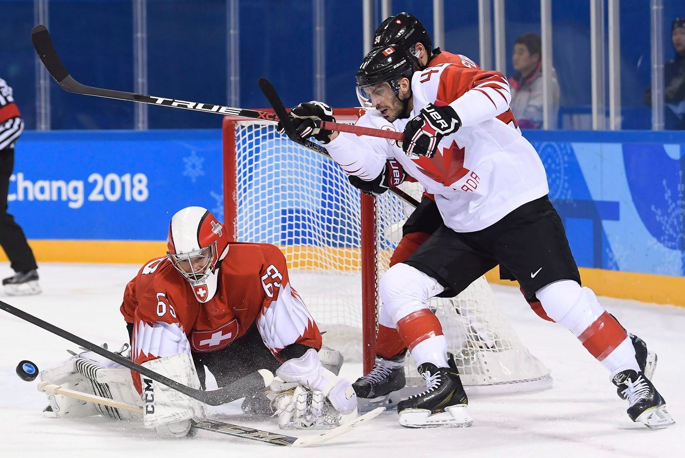 Canada Switzerland Men's Hockey PyeongChang 2018