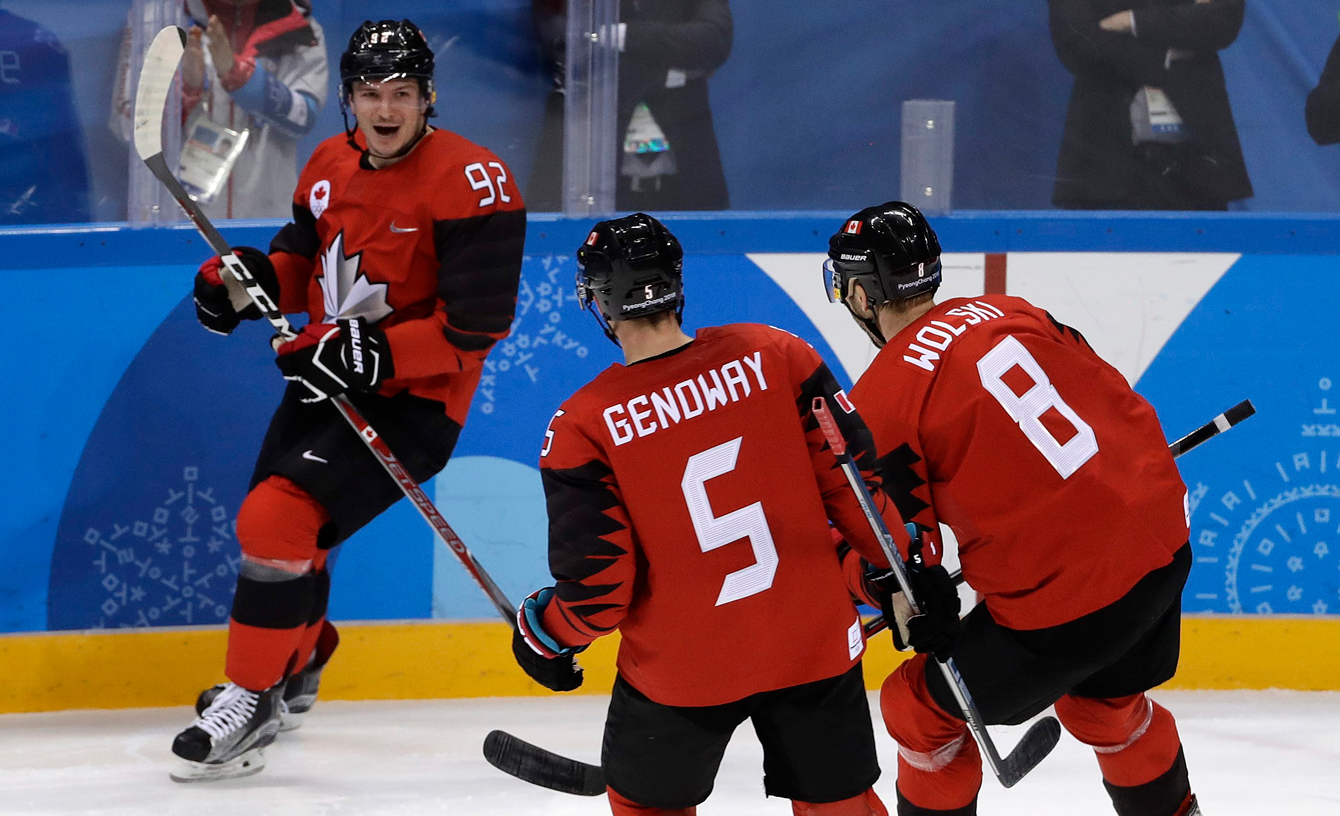 Christian Thomas Team Canada South Korea Ice Hockey PyeongChang 2018