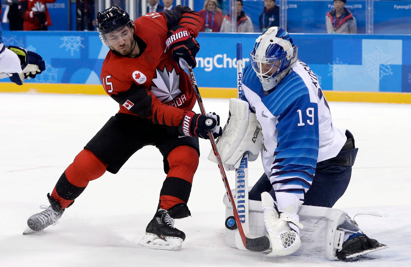 Team Canada Finland Ice Hockey PyeongChang 2018
