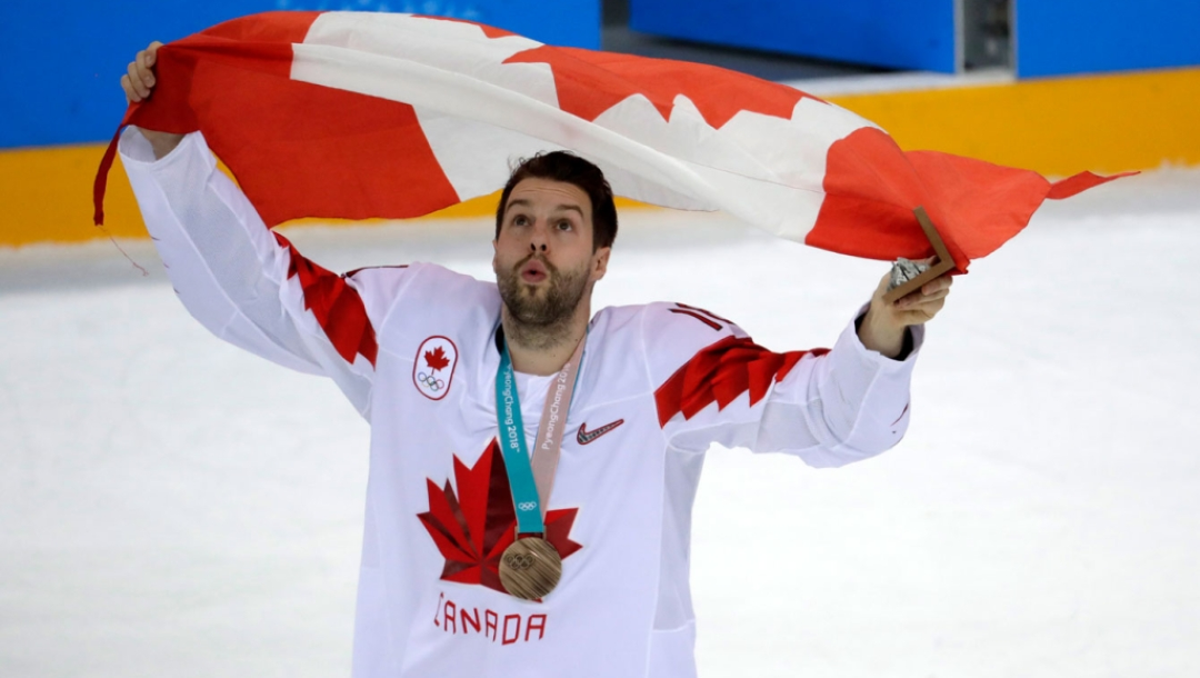 Team Canada Chris Kelly PyeongChang 2018