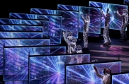 Dancers perform during the closing ceremony of the 2018 Winter Olympics in Pyeongchang, South Korea, Sunday, Feb. 25, 2018. (AP Photo/Chris Carlson)