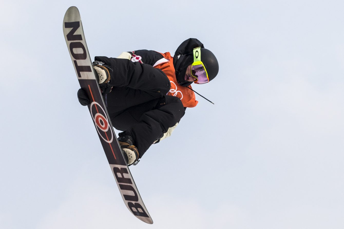 Team Canada Mark McMorris PyeongChang 2018
