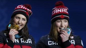 Team Canada Kelsey Serwa Brittany Phelan PyeongChang 2018