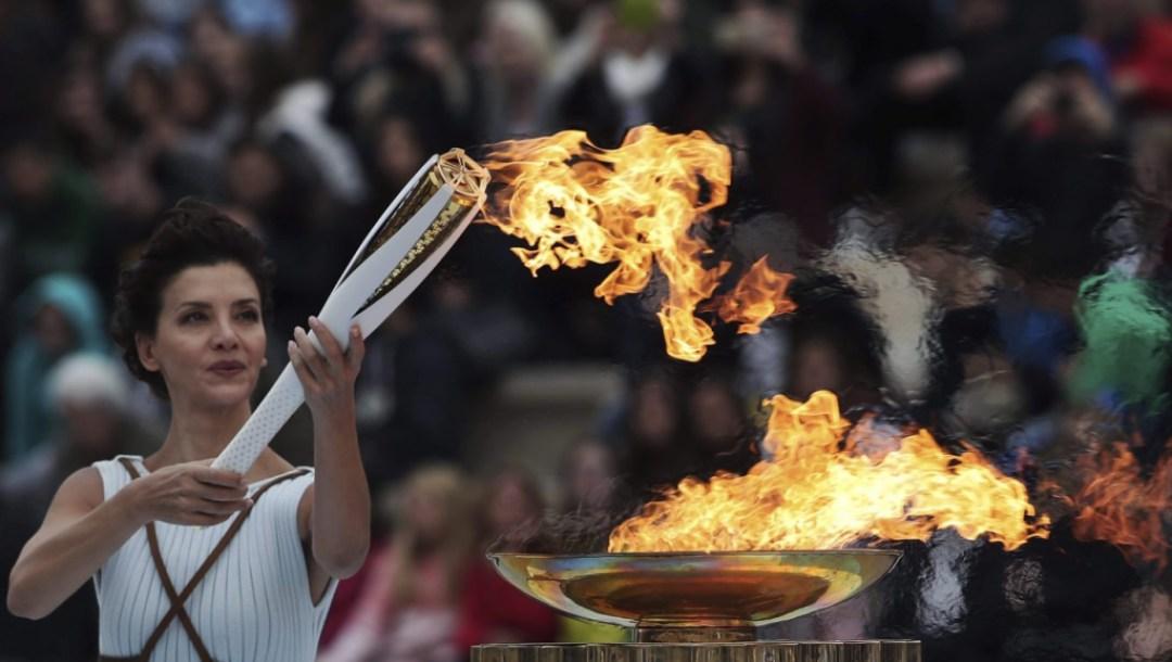 Greece Olympics Pyeongchang Flame