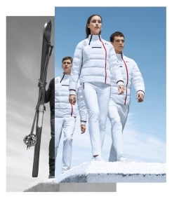 France's podium wear is sure to set a few hearts aflutter at PyeongChang 2018 (Photo: Lacoste/Team France).
