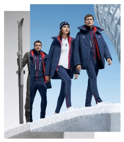 This is expected to be France's Opening Ceremony outfit at PyeongChang 2018 (Photo: Lacoste/Team France).