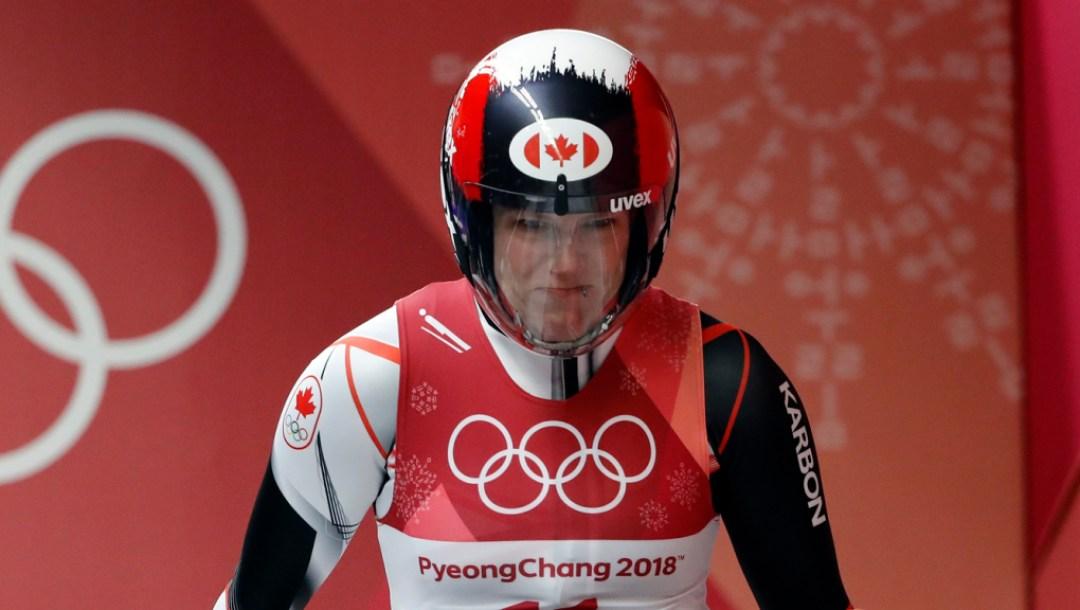 Team Canada - Alex Gough, PyeongChang2018