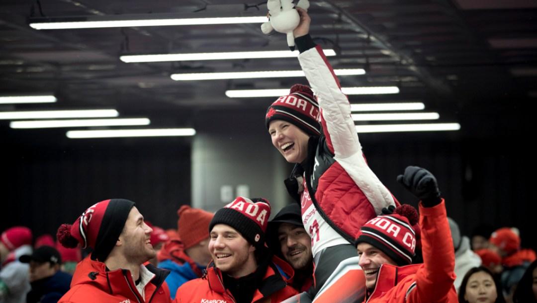 Team Canada - Alex Gough, PyeongChang 2018